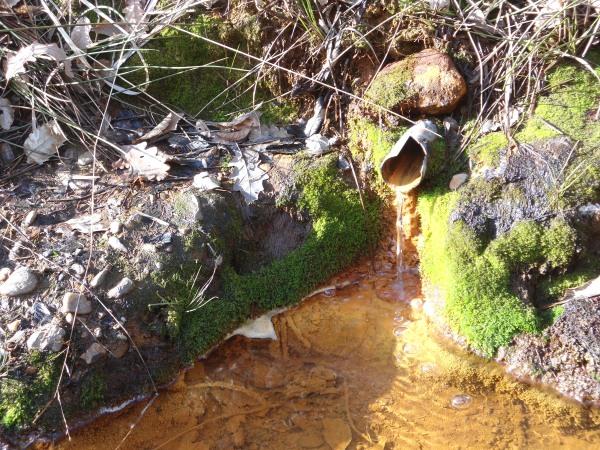 rust water