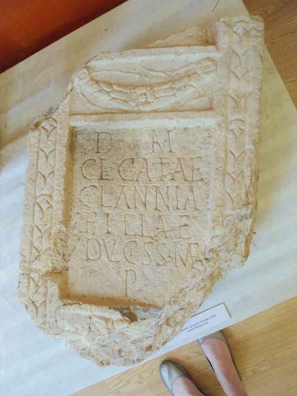 roman tombstone